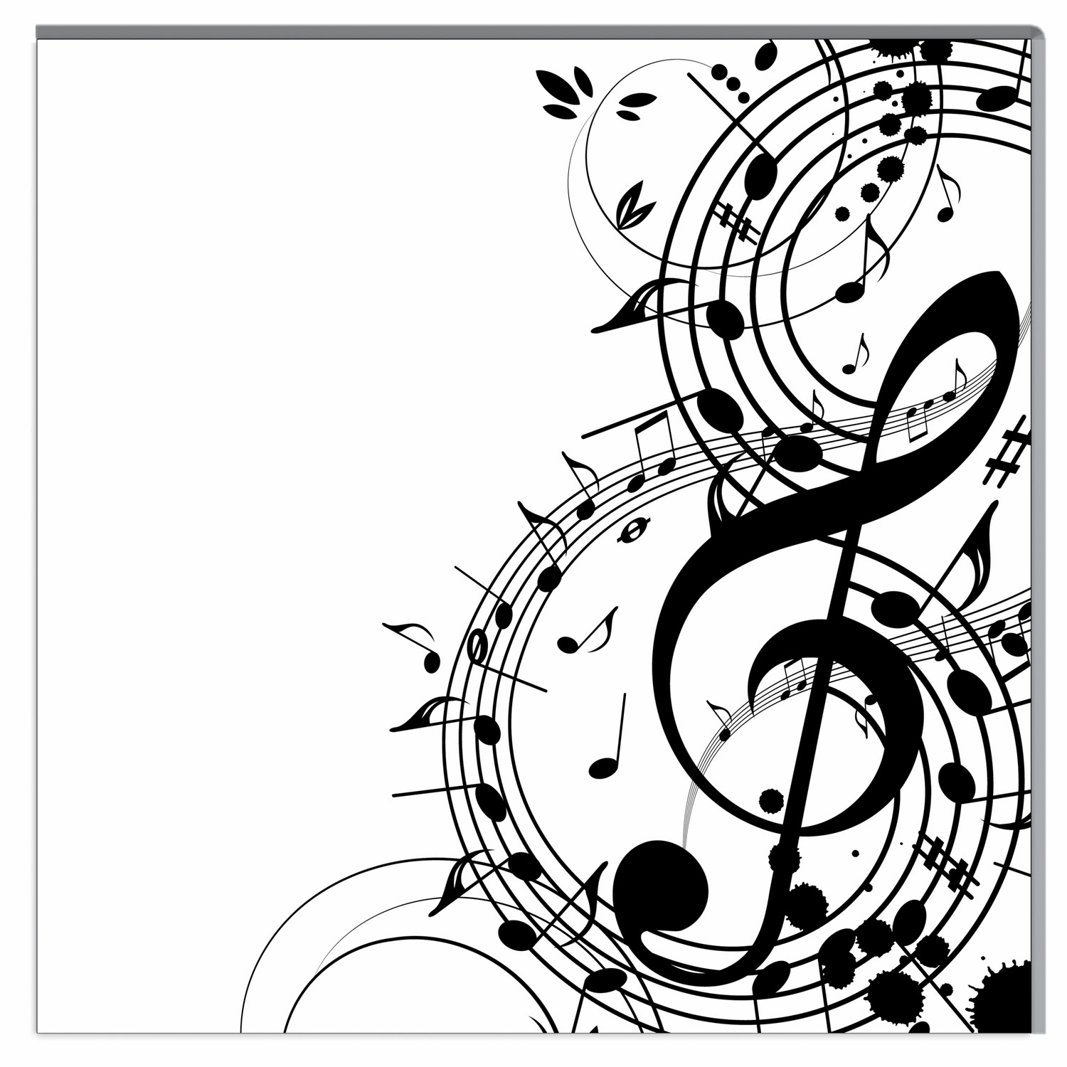 Line Art Music Notes : Malvorlagen gratis musik