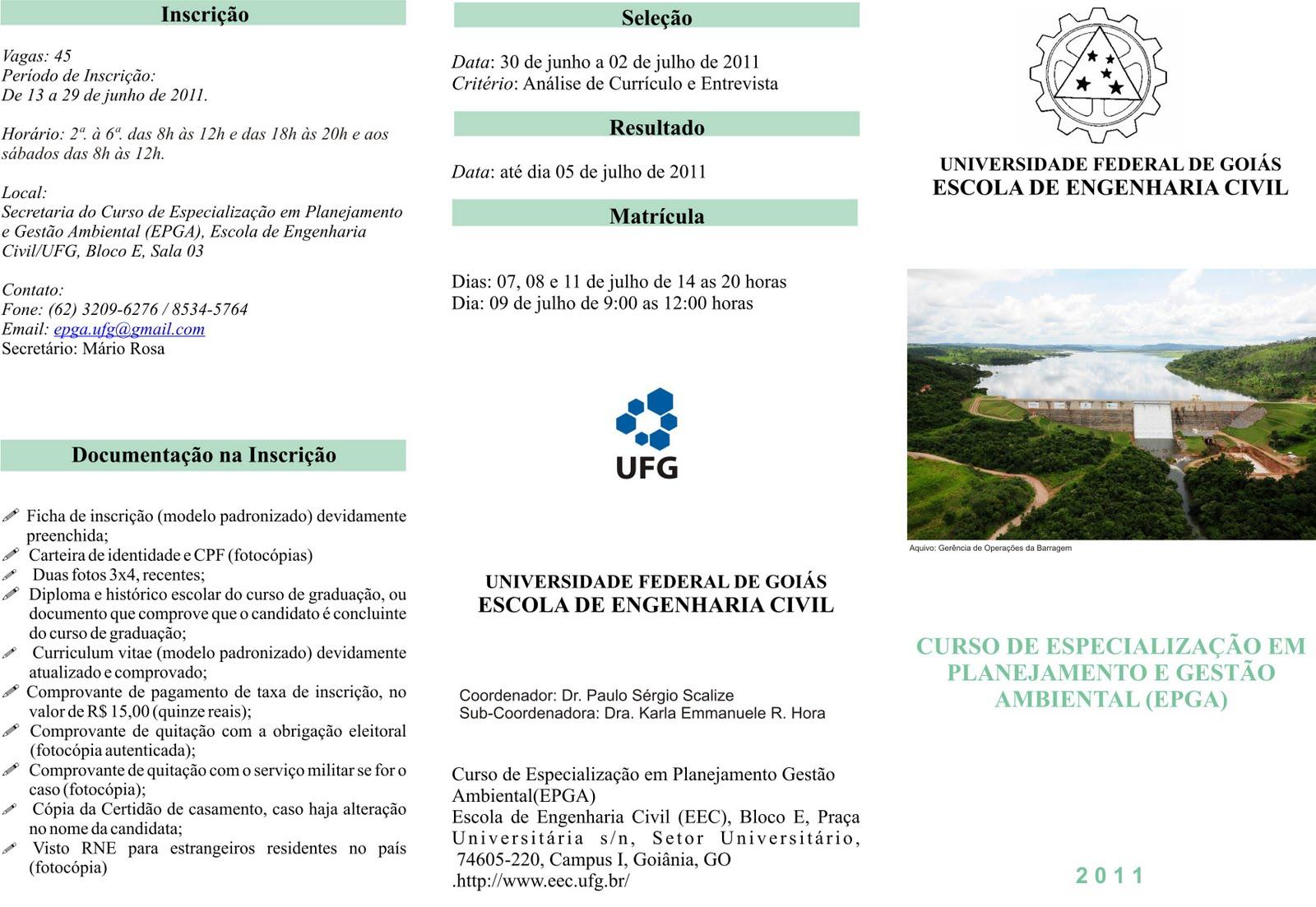 Curso de gestao ambiental