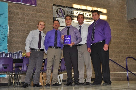 2013-14 Outstanding Senior Wrestler - Reagan Bodily