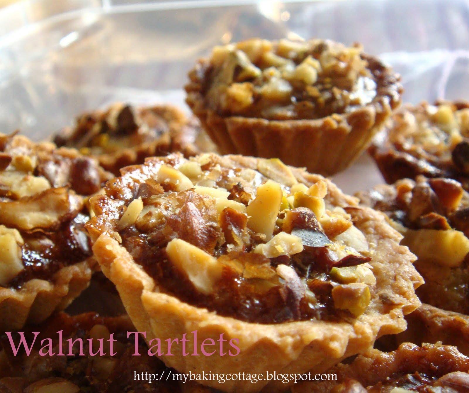 My Baking Cottage: Mini Walnut Tarlets