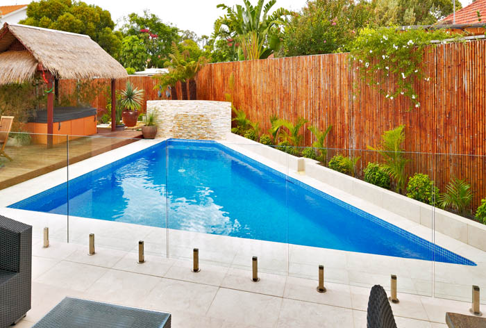 Complete Home Looking For Pool Paving Ideas