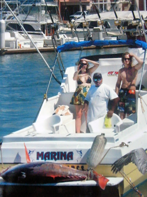 Pisces fleet sportfishing blog rare fish surfaces in cabo for Pisces fishing cabo