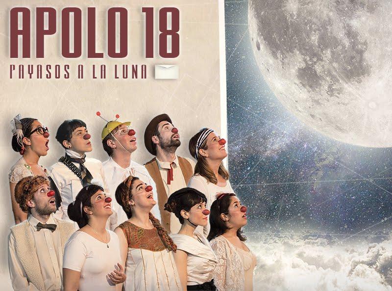 """""""APOLLO 18, payasos a la luna"""" dirección Silvia Aguado"""