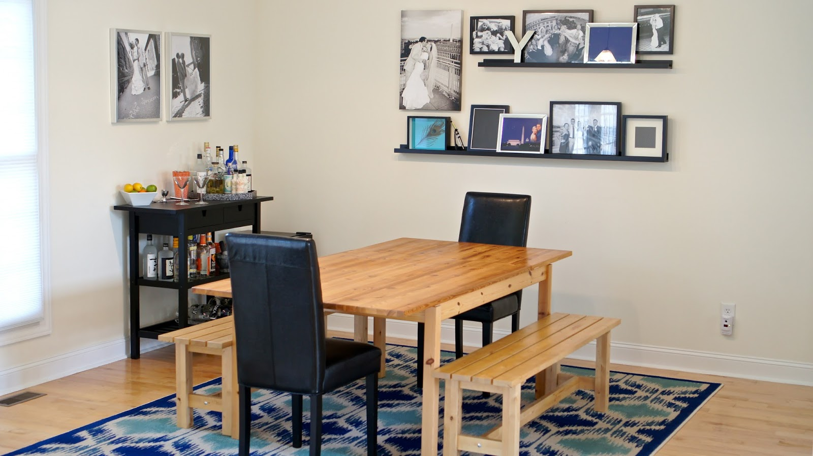 Ikea dining room 2013 - Updating The Ikea Norden Bar Dining Table