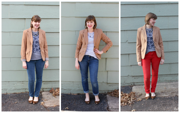 Camel Blazer 3 Ways