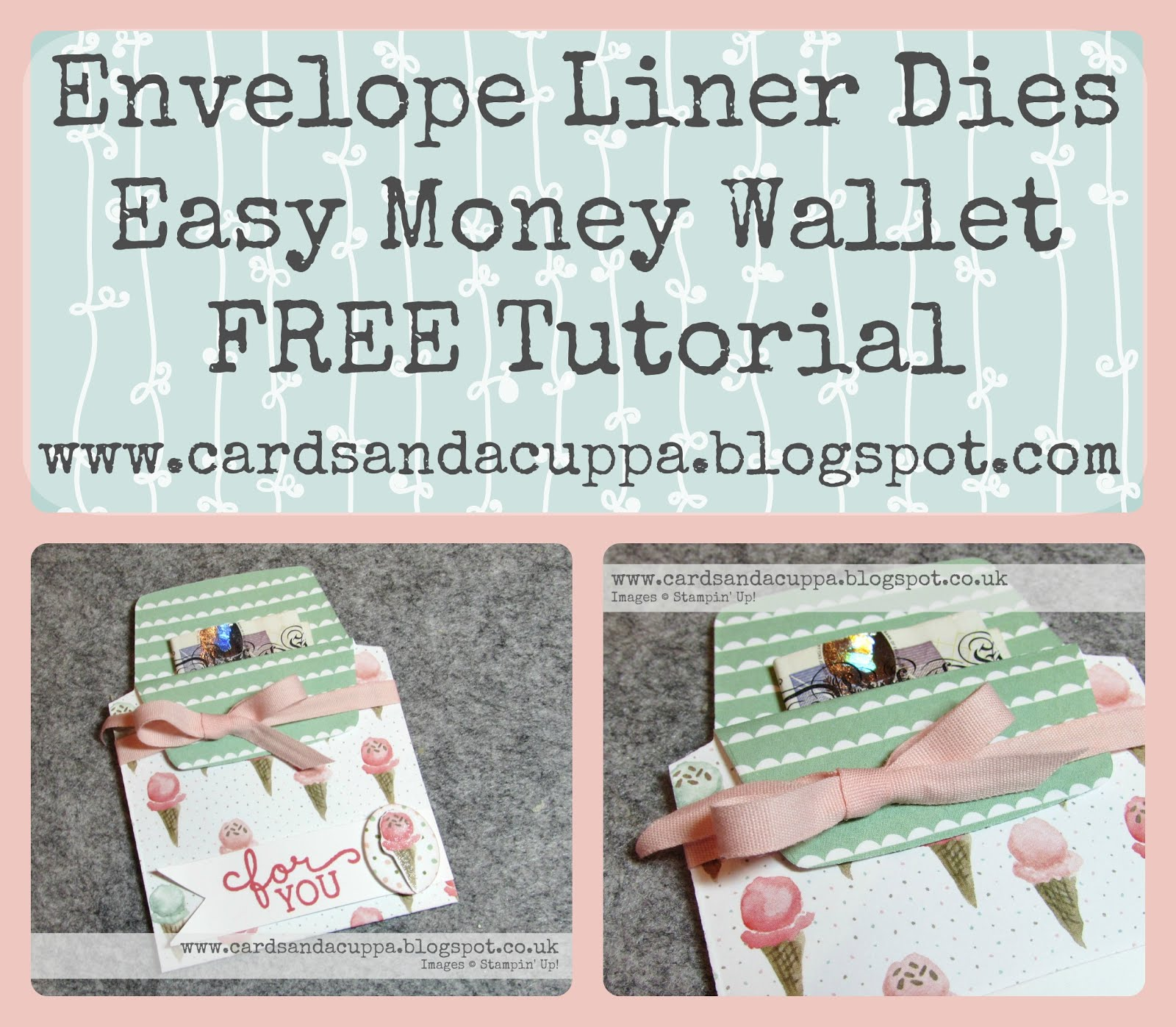 Never used your Envelope Liner Dies? Here's a quick tutorial to get them moving!