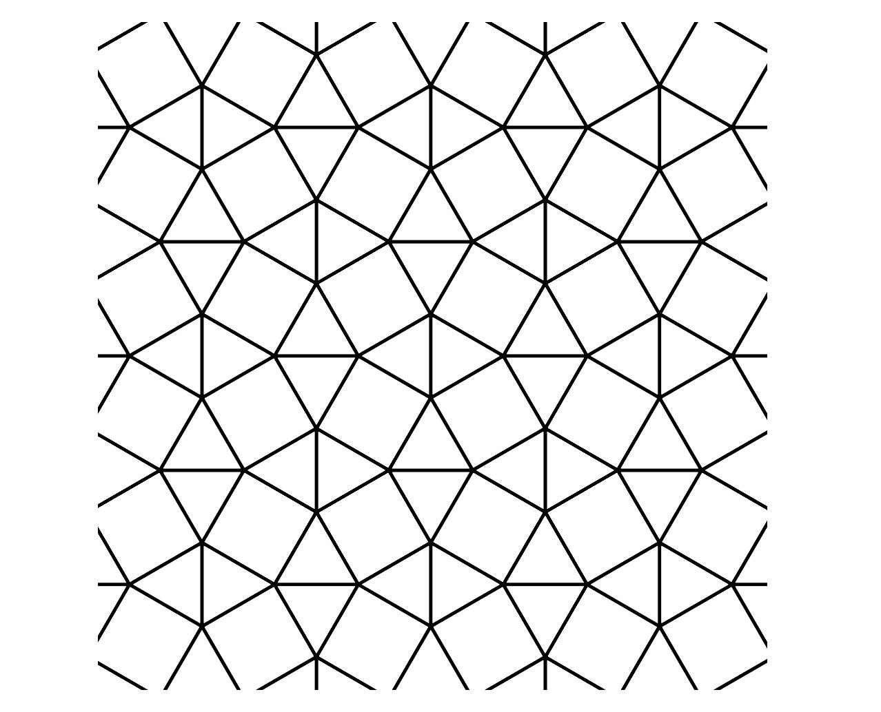 MEDIAN Don Steward mathematics teaching: semi regular tessellations