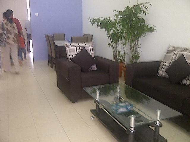 dekorasi ruang tamu rumah teres ask home design