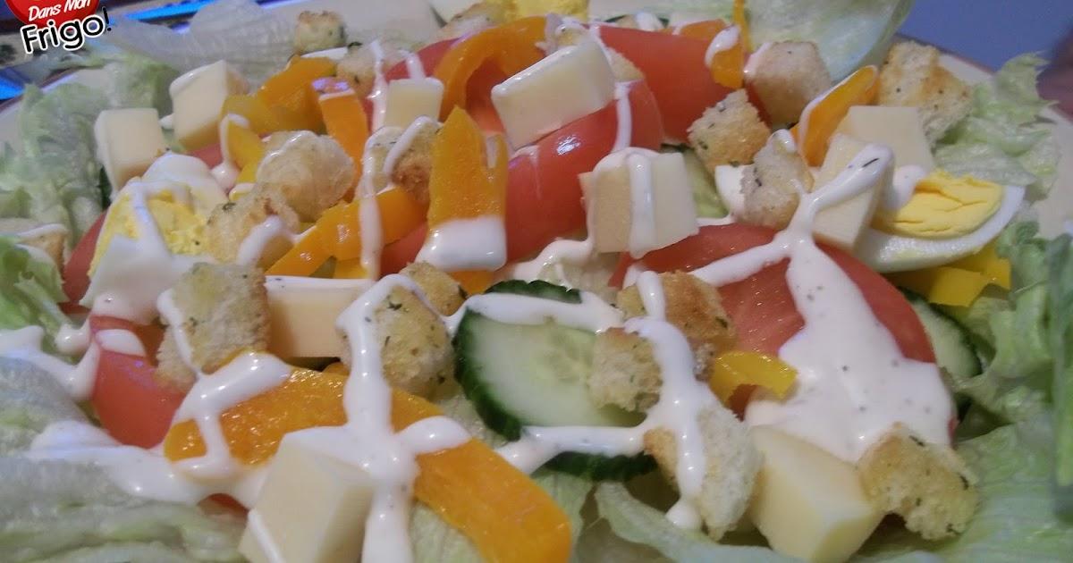 Dans mon frigo salade de l gumes for 750g dans mon frigo