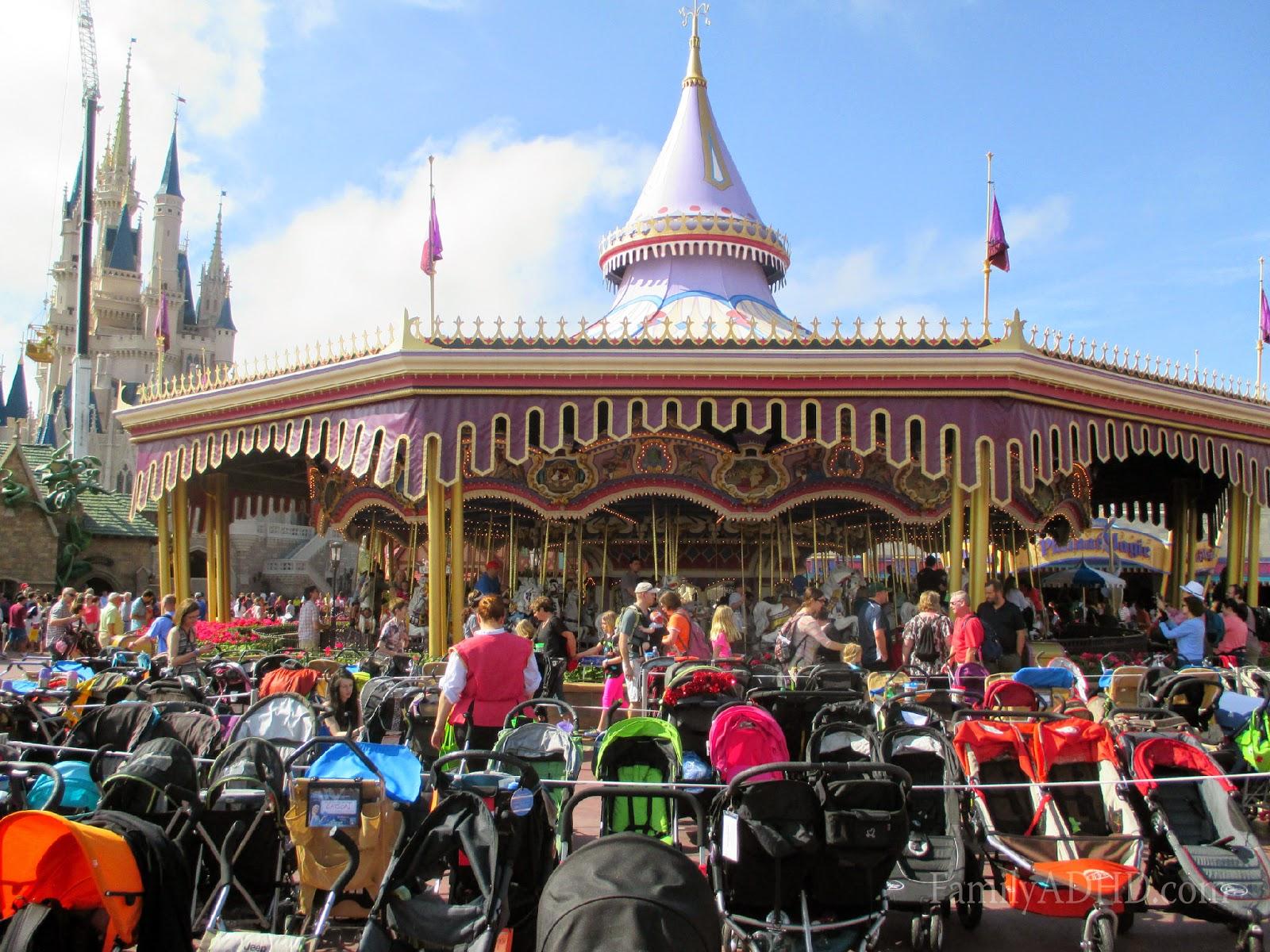 orlando family travel guide 2015 fantasyland prince charming regal carousel