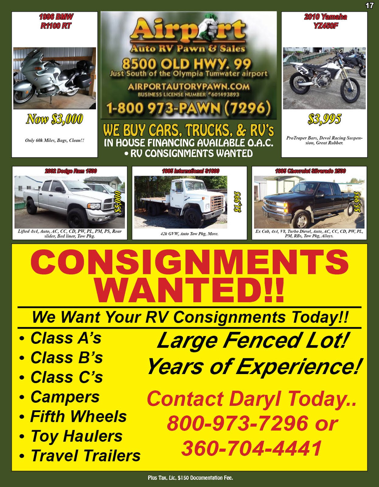Airport Auto RV Pawn & Sales