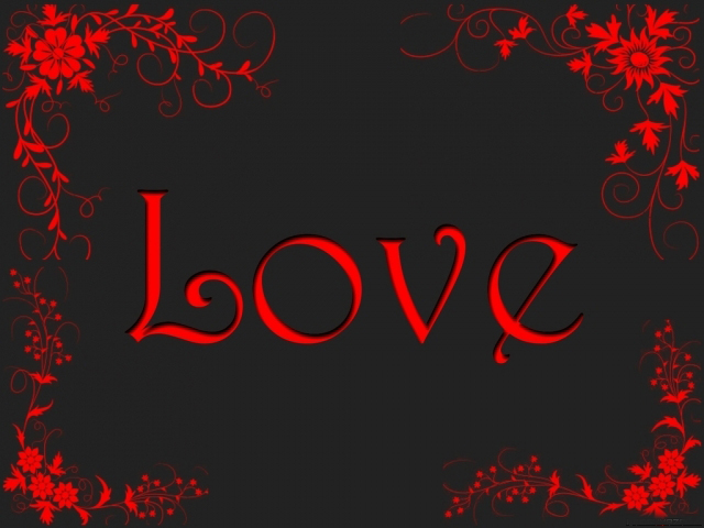 Love Wallpaper Blood : Love blood red text new xp wallpapers pc walls xp7 xp ...