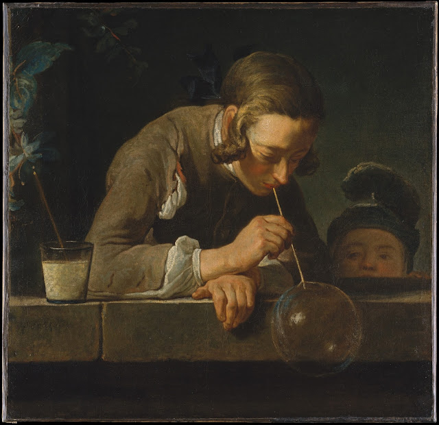 Ж. Б. С. Шарден. Мыльные пузыри. Ок. 1739 г.