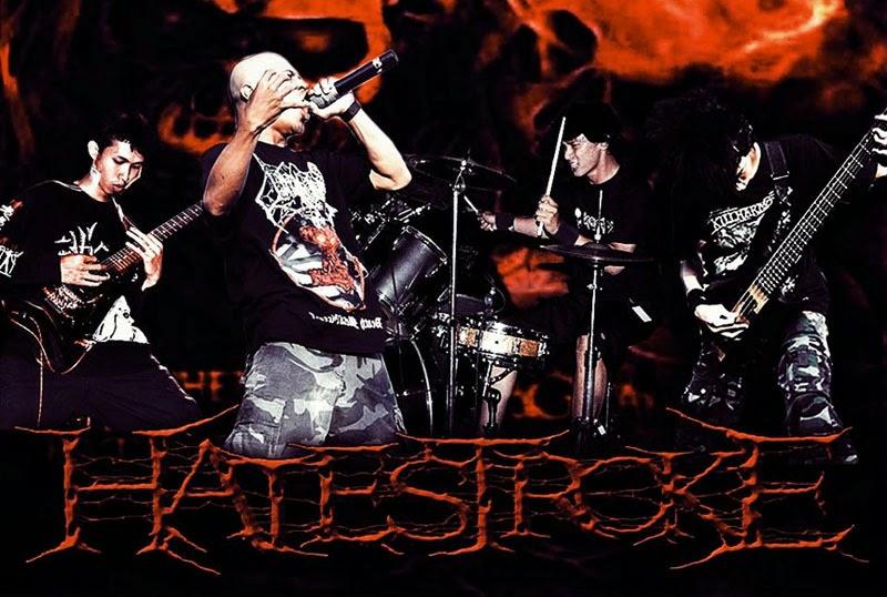 Hatestroke Band Brutal Death Metal Kediri - Jawa Timur foto personil logo artwork wallpaper