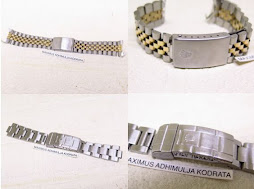 ROLEX PART 1 - ROLEX JUBILE BRACELET AND ROLEX SUBMARINER BRACELET (No end lug)