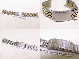 ROLEX PART 1 - ROLEX JUBILE BRACELET AND ROLEX SUBMARINER BRACELET (No end lug)