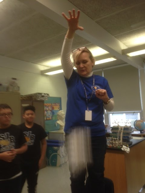 """""""Science Class is full of surprises!"""""""