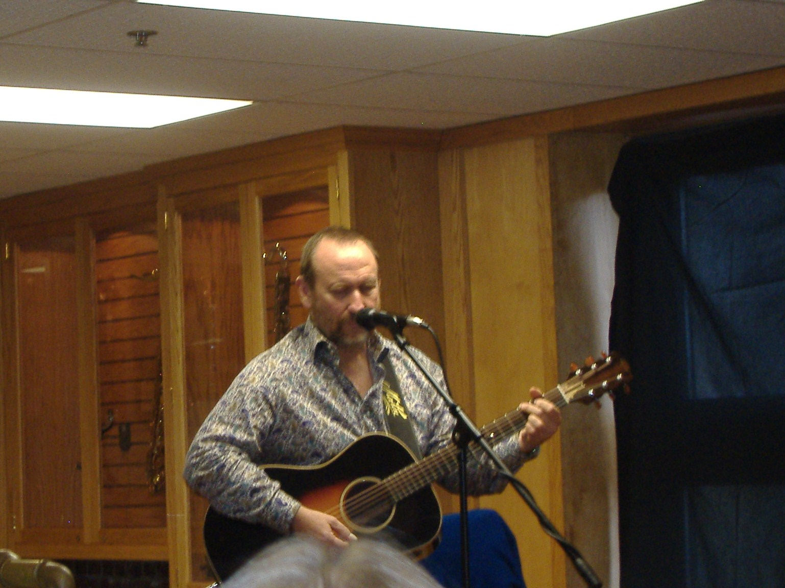 CasaCoisalinda: Colin Hay-Jack's Music Shoppe Red Bank, NJ 4/16/11