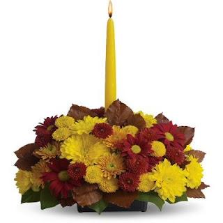 Send Thanksgiving Table Fresh Flower Centerpiece