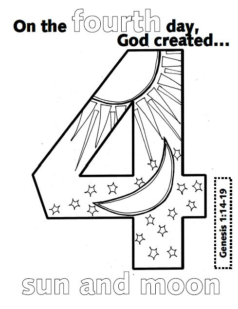 look to him and be radiant creation numbers, coloring pages