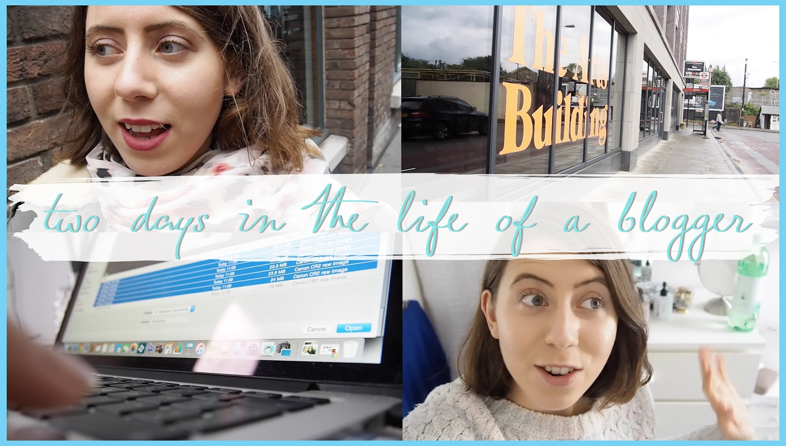 THE VIDEO: TWO DAYS IN THE LIFE OF A BLOGGER