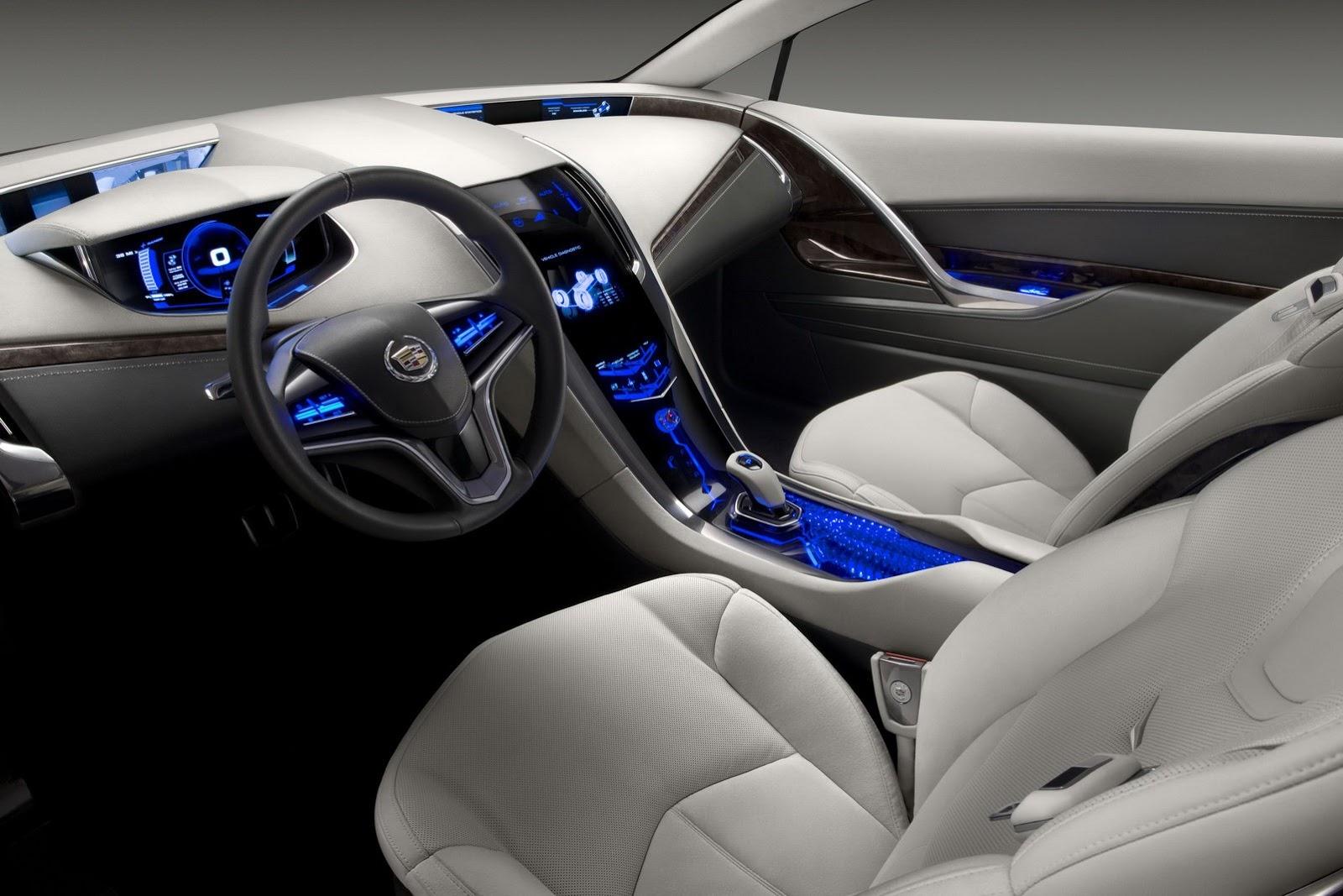 2015 Cadillac CTS V Interior
