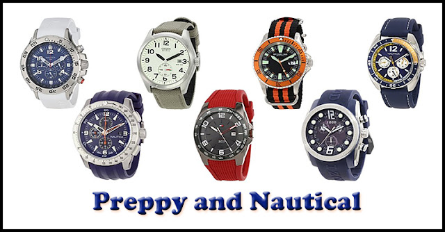 Preppy and Nautical Watches