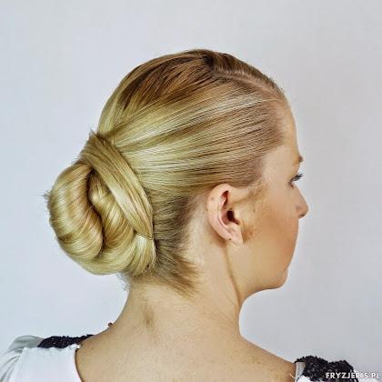 fryzura ślubna 91