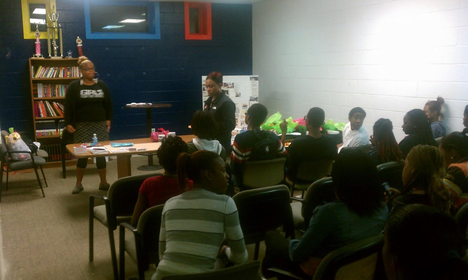Teen Center Session Participants