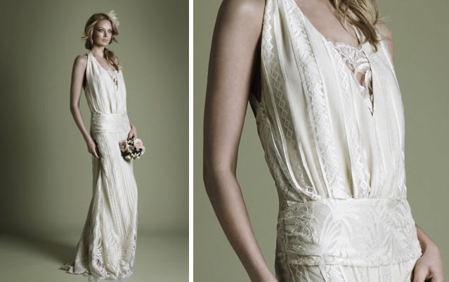 Enchanted serenity of period films the vintage wedding for 1920s inspired wedding dresses