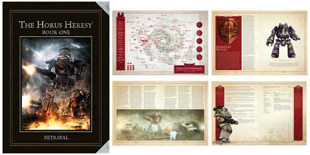 Horus Heresy Betrayal: Pics of New Releases