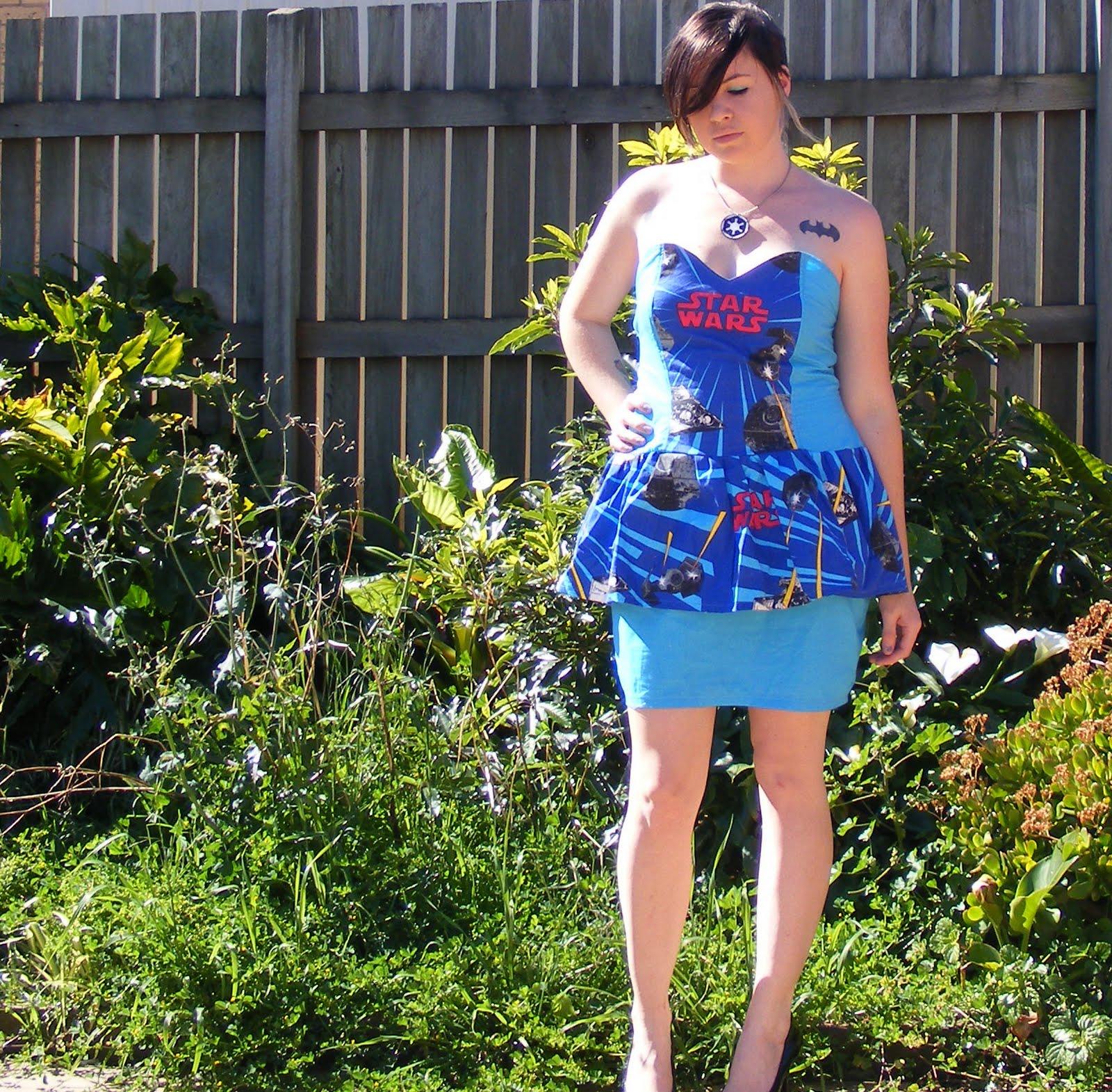 Max California Dress With A Peplum Tutorial