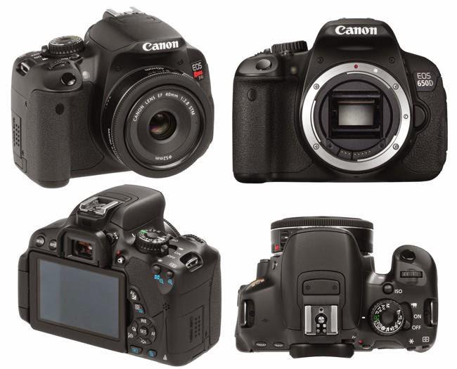 Daftar harga kamera canon EOS