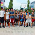 Bermain bola BASKET di lapangan Simpang Lima Semarang