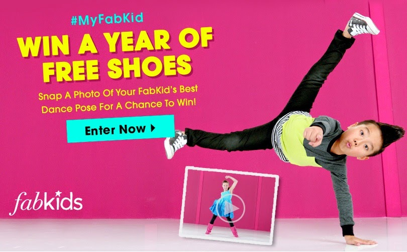 #‎Win‬ a Year of Free Shoes from FabKids!