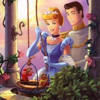 Disney Princess Cinderella And Prince