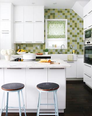 como decorar uma cozinha pequena ?