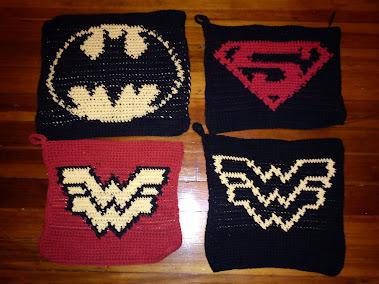 Superhero Potholders