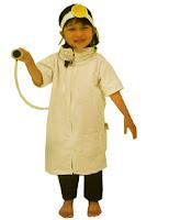 kostum profesi dokter untuk anak anak