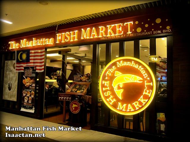Manhattan fish market queensbay mall penang for Fish market queens