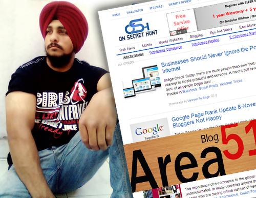 blogger interviews varinder pal singh on secret hunt