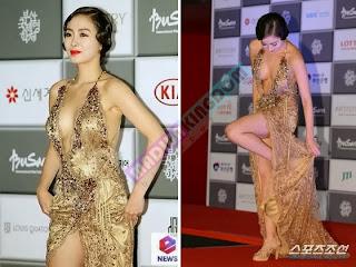 Foto Seksi Han So Ah dan Kang Hanna