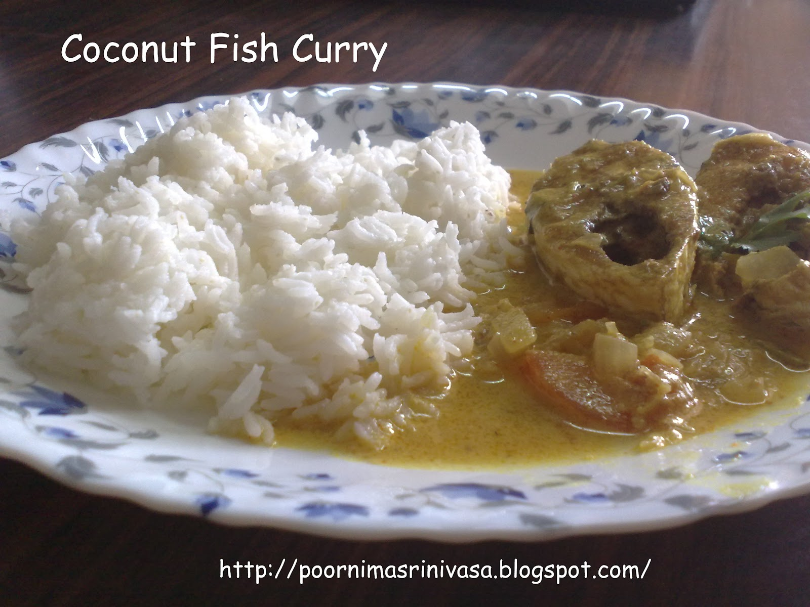 Andhra-Karnataka Bojanam: Coconut Fish Curry