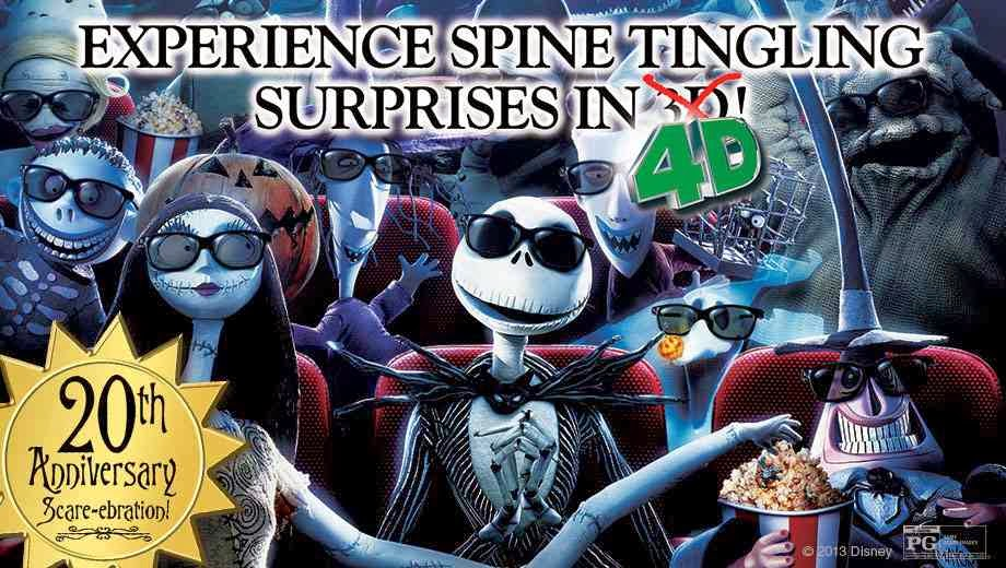 El Capitan Theater Discount: $10 The Nightmare Before Christmas 4D ...