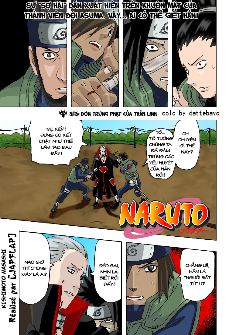 Naruto chap 323.Color Trang 1 - Mangak.info