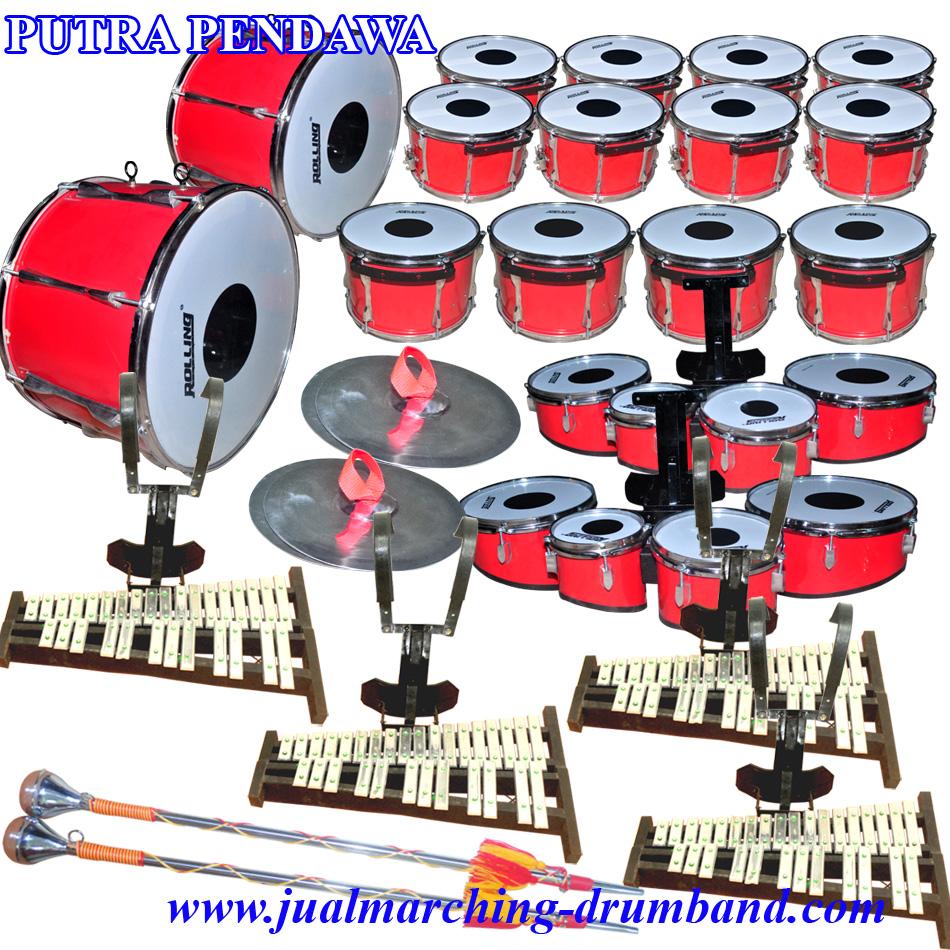 Paket Drum Band SMP/SMA 24 Alat Kw Standar