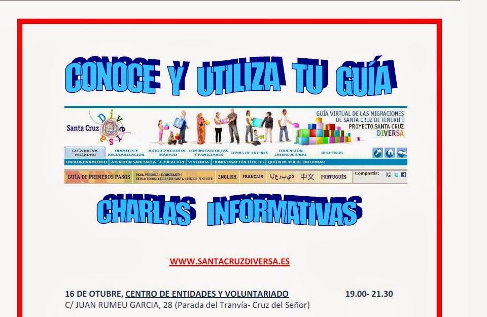 Inmigraci n una oportunidad charlas informativas for Oficina virtual gobierno de canarias