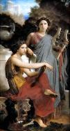 Musas del Arte (pintura) y de la Literatura
