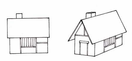 Dibujo De Una Casa Dibujo Para Imprimir Y Colorear De Una