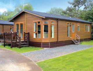 Superb Log Cabin Accommodation in Lincolnshire